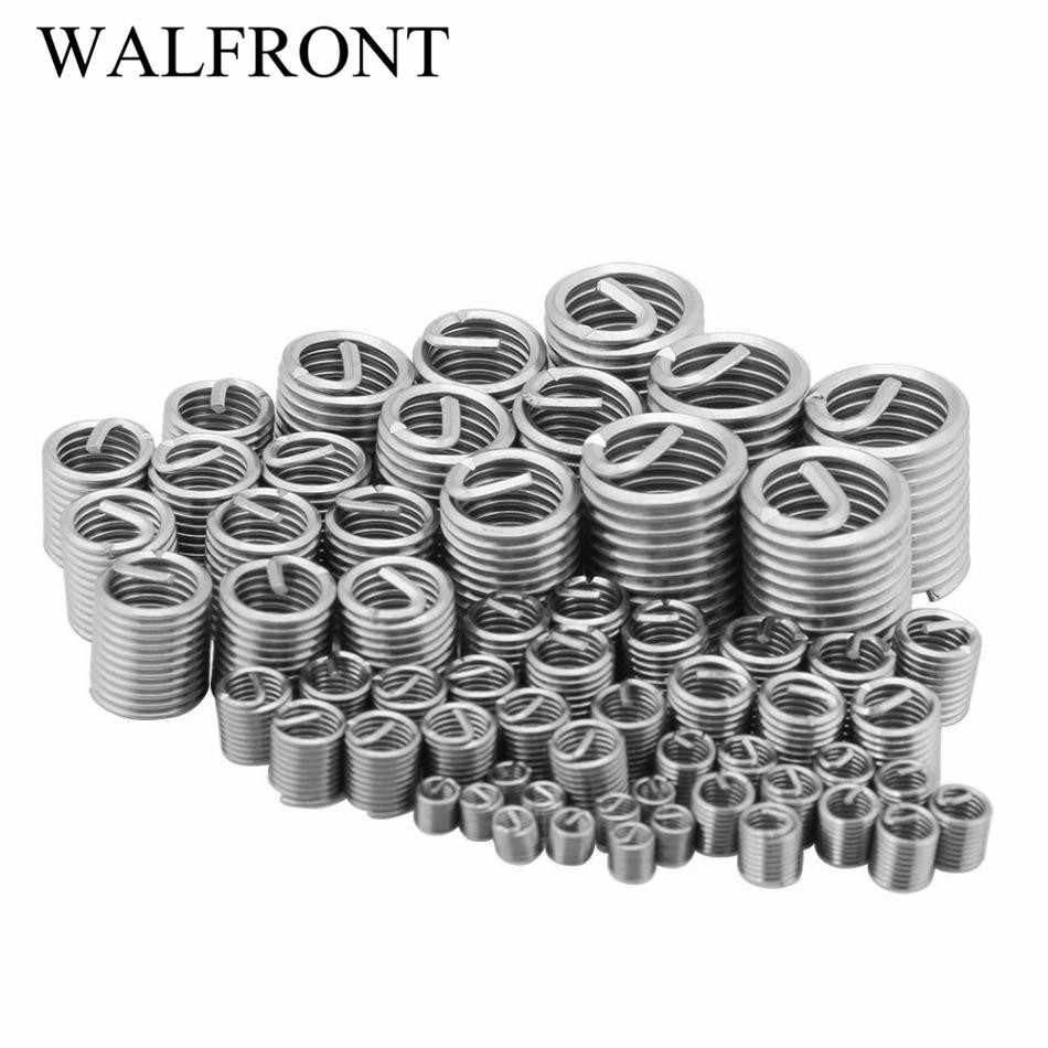 M6 M8 Screw Repair Sleeve Assortment Kit,8 Sizes Stainless Steel Wire Thread Insert Screw Sleeve,for Connection