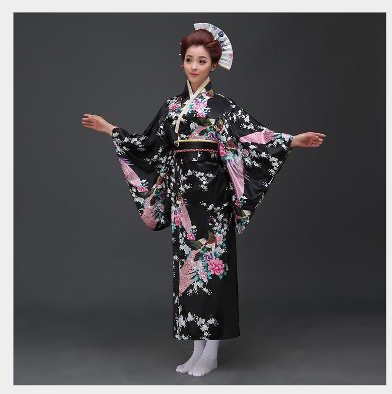 Модные национальные тренды женское сексуальное кимоно юката с Obi Новинка вечернее платье японский карнавальный костюм Цветочный Один разм