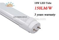 25pcs Lot T8 High Lumen Led Tube 1200mm 4ft 150lm W Fluorescent Tube 85 265V AC