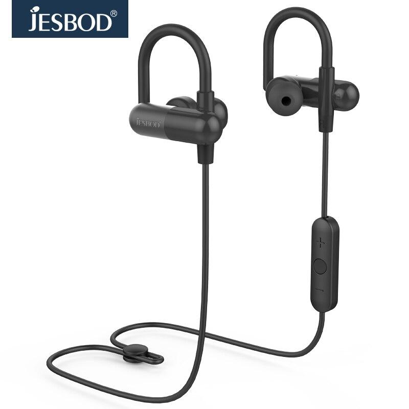 ФОТО Original Jesbod QY11 Microphone Headphone Bluetooth Earphone Wireless Sports Headset Apt-X APP MP3 Player for iphone 5s 6 7 Plus