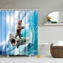 Buy 2017 New LFH Anilmal Eco-Friendly Shower Curtain online