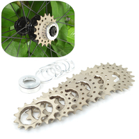 Fouriers bicycle freewheel CASSETTE Drum Single Speed Rear Tooth Plate 16 23T Free wheels for bicycles