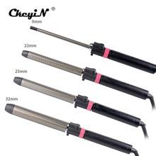 9 32mm Professional Hair Curler Deep WAVE CURLY Curls Salon LED ไทเทเนียม Curling Iron Stick จัดแต่งทรงผมอุปกรณ์เสริม S36