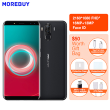 Ulefone Power 3S 4GB+64GB Octa Core Android 7.1 Smartphone 6.0″18:9 Full Screen 4 Camera 6350mAh Face ID OTG 4G Mobile phone