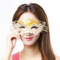 Moda Metal Venedik Maske Kadınlar Için Klasik Parti Maskesi Masquerade Ball Maskeler Yarım Maske SD240