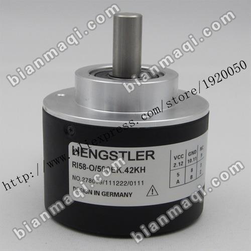 Suministro de RI58-O/500EK. 42KH Hengshi Lok codificador rotatorio 500 líneas de Eje 10mm