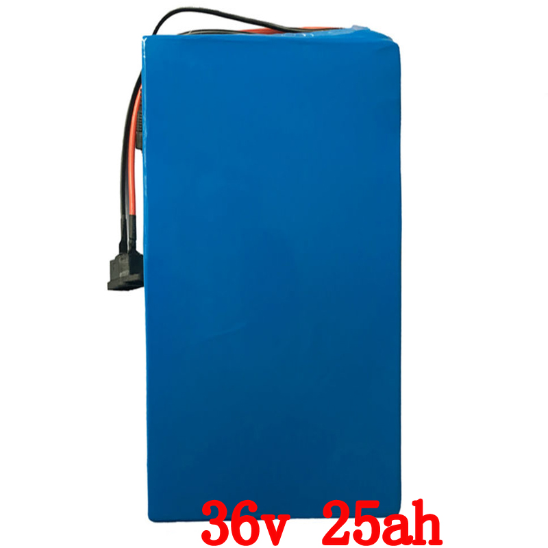 36V 25AH electric scooter battery 36V 500W 1000W electric bike battery 36V Lithium ion battery pack with 30A BMS+42V 2A charger