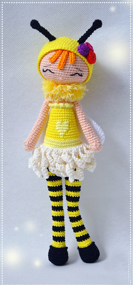 This Autumn the Bear Girl is a perfect... - Amigurumi Patterns.net ...   1113x532