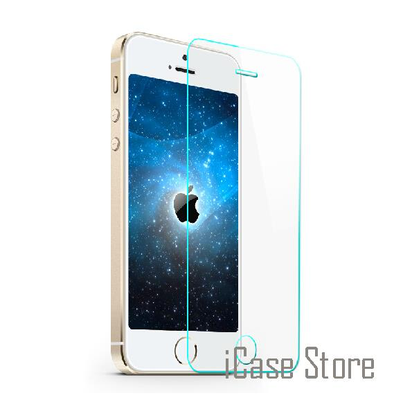 Galleria fotografica 0.30mm 2.5D Ultra HD Tempered Glass for iPhone 6 6plus Tempered Glass Screen Protector Film for iPhone 4 4S 5 5s 6 6s plus guard