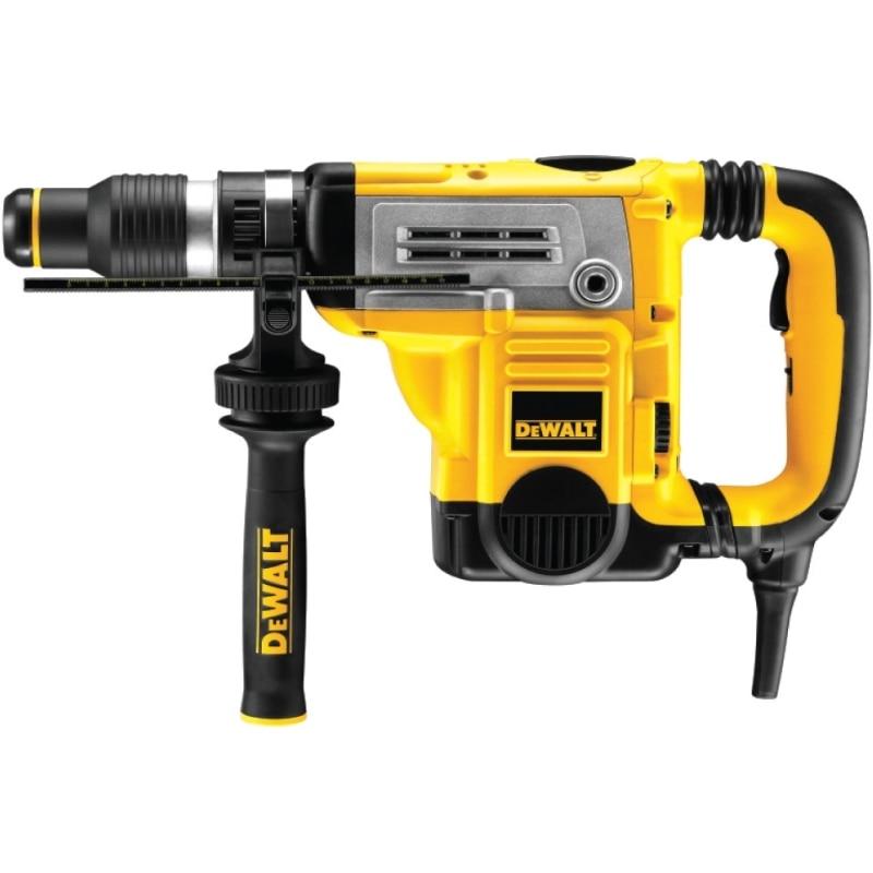 Electric hammer drill DeWalt D25601K (Power 1250 W no-load speed 415 rpm 2840 beats per minute) drill impact makita hp1630 no load speed 3200 rev min 48000 beats per minute reverse