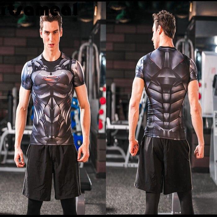 Batman VS Superman T-shirt Cool Novelty Tshirt Men Dawn Justice Tee T-Shirts - ANHUI RUIQIQIAN TRADE CO,. LTD store