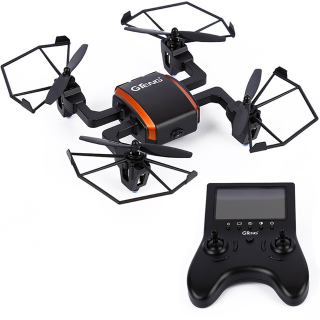 High Quality RC Helicopter  Gteng T901F 4CH 6-Axis Quadcopter Drone 2.0 MP Camera FPV RC Drone Helicopter Wholesale