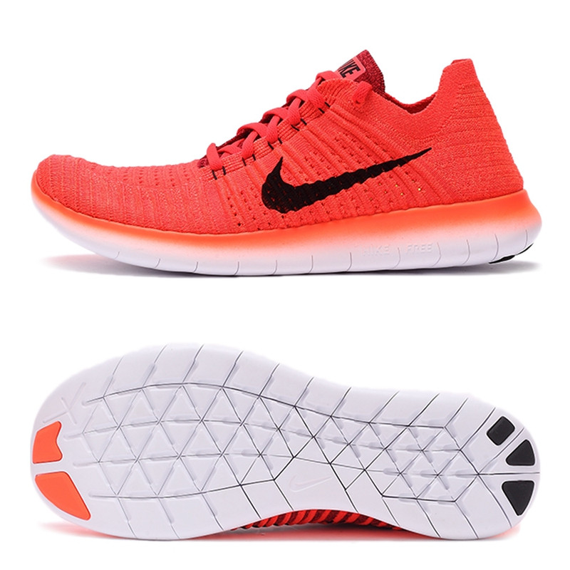 best sneakers 2162b 8152d NIKE FREE RN FLYKNIT Original New Arrival Official Men s Running Shoes  Breathable Sneakers Trainers