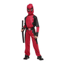 Kids Child Boys Masked Knight Hero Deadpool Costume Cosplay Halloween Carnival Mardi Gras Party Outfit
