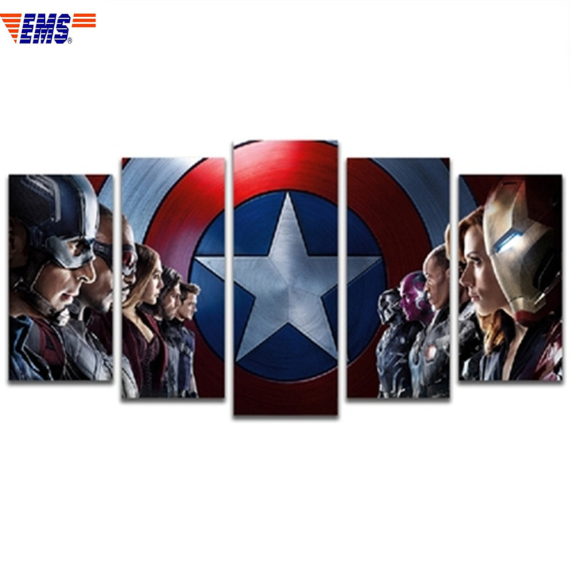 150X80CM Cartoon Avengers:Infinity War Combination Picture Wall Hangings European Style Coffee Shop Wall Art Decorations X935150X80CM Cartoon Avengers:Infinity War Combination Picture Wall Hangings European Style Coffee Shop Wall Art Decorations X935