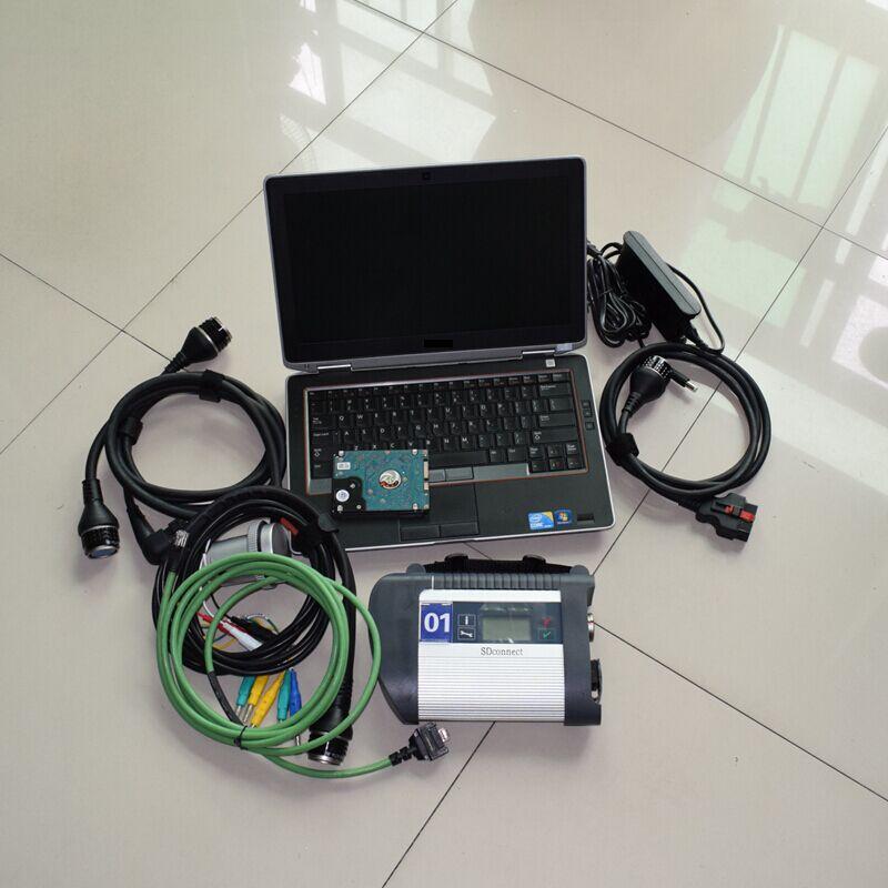 Aus Dem Ausland Importiert Beste Qualität! Mb Star C4 Sd Schließen Mit 2019,05 Software Mit E6320 Laptop Cpu I5 Ram 4g Mb Sterne C4 Sd Verbinden C4 Werkzeug Freies Dhl Verkaufsrabatt 50-70%