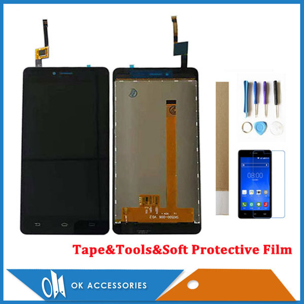 5.0 Inch For <font><b>Philips</b></font> <font><b>S326</b></font> LCD Display <font><b>With</b></font> Touch <font><b>Screen</b></font> Digitizer Assembly High Quality White Black Color <font><b>With</b></font> Kits image
