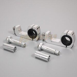 Image 2 - PowerMotor support de garde mains pour moto, support de montage pour poignée pour modernisation de 22/28mm, livraison gratuite