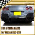 Car-styling For Nissan R35 GTR 2008 Zele Style Carbon Fiber Rear Lip