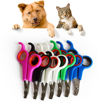 Pet Nail Toe Clipper Grooming Claw Cutter Trimmer Groomer Cutters Pet Nail Scissors Pet Cleaning Tools 1 Pc Dog Scissors