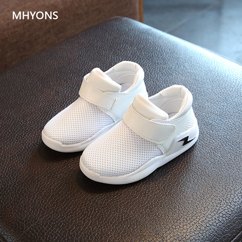 MHYONS Spring Autumn Kids Shoes 2018 Fashion Mesh Casual Children Sneakers For Boy Girl Toddler Baby Breathable Sport Shoe