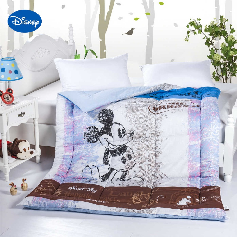 ᗑ】Mickey Mouse Printed ComforterS Single Twin Size Boys 100 ...