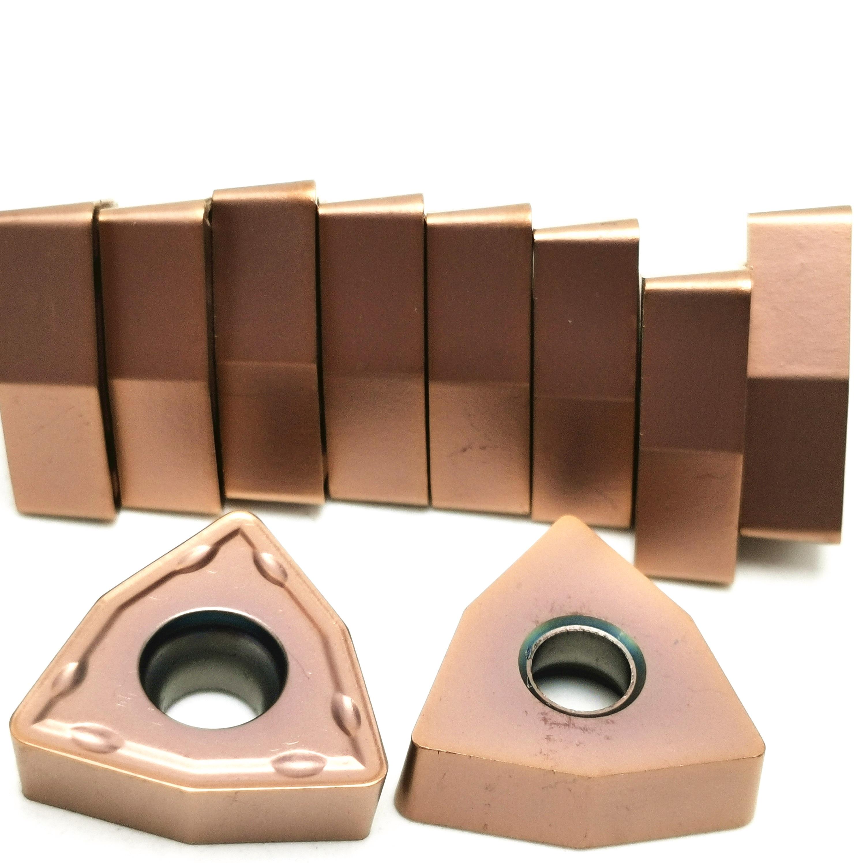 Купить с кэшбэком U Drill WCMX030208 WCMX040208 WCMX050308 WCMX06T308 WCMX080412 Carbide Inserts CNC Lathe Cutter for WC Type U Drill Bit