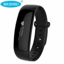 Huiniu M88 SmartBand шагомер вызов напоминание будильник Smart Band Bluetooth Водонепроницаемый Браслет сна Мониторы браслет