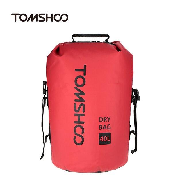 da454991c007 TOMSHOO 40L Outdoor Water-Resistant Dry Bag Sack Storage Bag for Travelling  Rafting Boating Kayaking Canoeing Camping