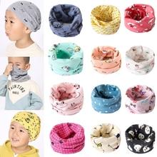 Hot New Magic Cute Cartoon Cotton Bandana Neck Gaiter Snood Headwear Tube Scarf Kids Baby