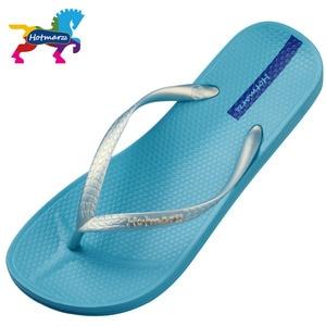 Image 2 - Hotmarzz Women Summer Beach Slippers Slim Flip Flops Soft House Slippers Summer Sandals Ladies Shower Shoes