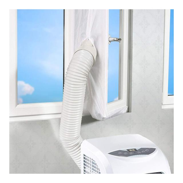Universal Air Lock Window Seal Cloth Plate 4 m Hot Airs Stop Conditioner Outlet Window Sealing Kit for Mobile Air Conditioner