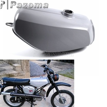 Pazoma Motorbike Steel Gray Green Orange Gas Tank Motorcycle Fuel for Simson S50 S51 S70 S 50 51 70