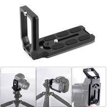 Г-образный быстросъемный кронштейн для Nikon D7500 D7200 D7100 D7000 D5600 D5500 D5300 D5200 D810 D850 D750 D610 D600 D3400 D3300 D2