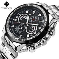 Men's Watches Luxury Brand Top 50 m Waterproof Japan Sports Men's Stainless Steel Quartz Watch Casual Men's Military Watch Wrist