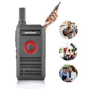 Image 5 - SOCOTRAN SC 600 UHF mini walkie talkie Amateur Radio 400 470MHz Ultra dünne zwei weg radio doppel PTT atmen licht
