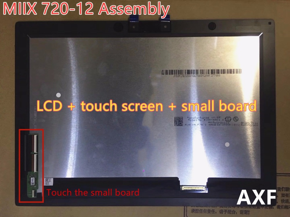 D'origine Pour IdeaPad Miix 720-12IKB 720-12 L'assemblée