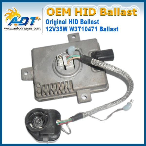 OEM Xenon HID Ballast For Mitsubishi W3T10471 W3T11371 X6T02981 W3T15671 D391510H3 2004-2006 For Mazda 3