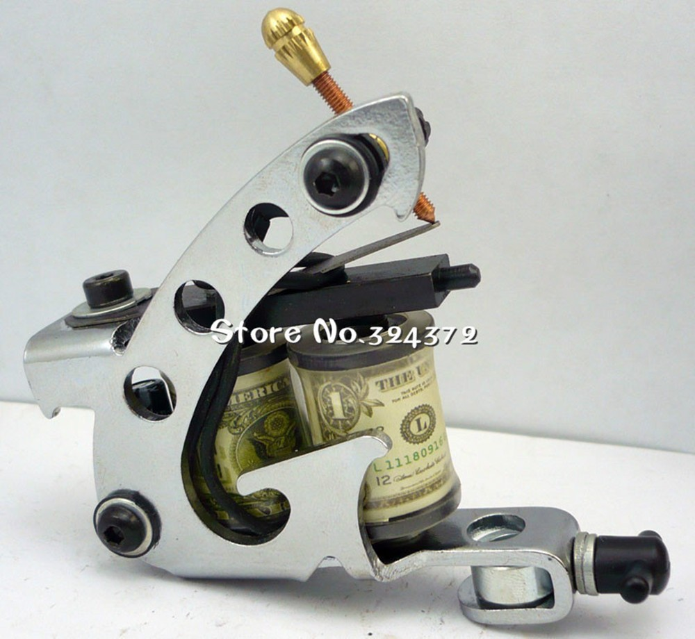Guns tattoo kit equipments for cosmetic body art tattooing, high assembly professional rotary tattoo machine kit