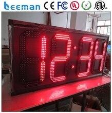 Leeman Профессиональный пульт дистанционного управления привели таймер обратного отсчета с CE, ROHS, UL СВЕТОДИОДНЫЙ, 6 цифр Спорта Стены Таймер Обратного Отсчета