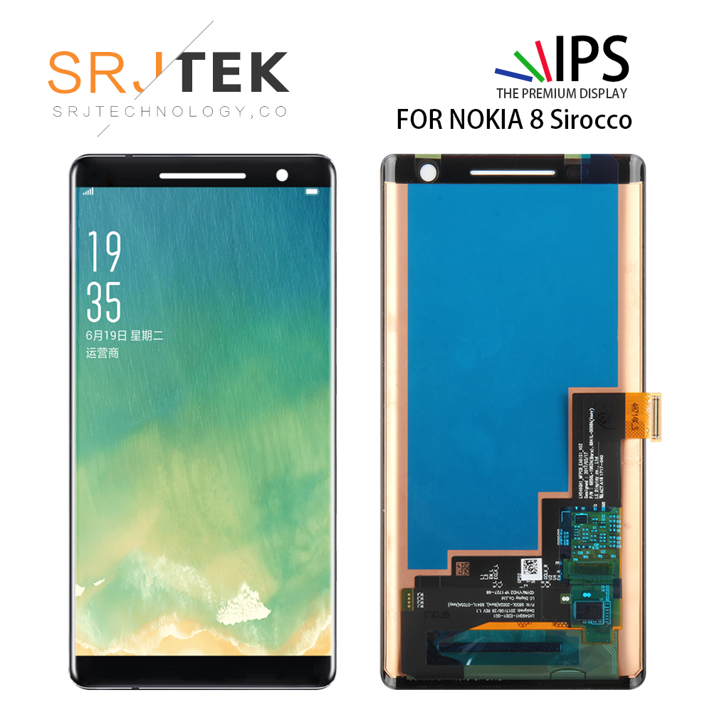 5.5'' For Nokia 8 Sirocco LCD Display Screen With Touch Screen Digitizer Assembly For Nokia Nokia 8 Sirocco Lcd Screen