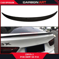 for X6 F16 Carbon Fibre Wing Spoiler M Design Racing Car Rear Automatic Tail Sports Spoiler 2015+