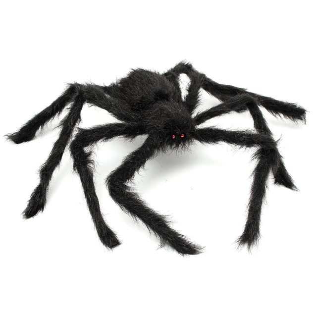 Practical 29 Giant Spider Plush Spider Red Eye Party Horror Props
