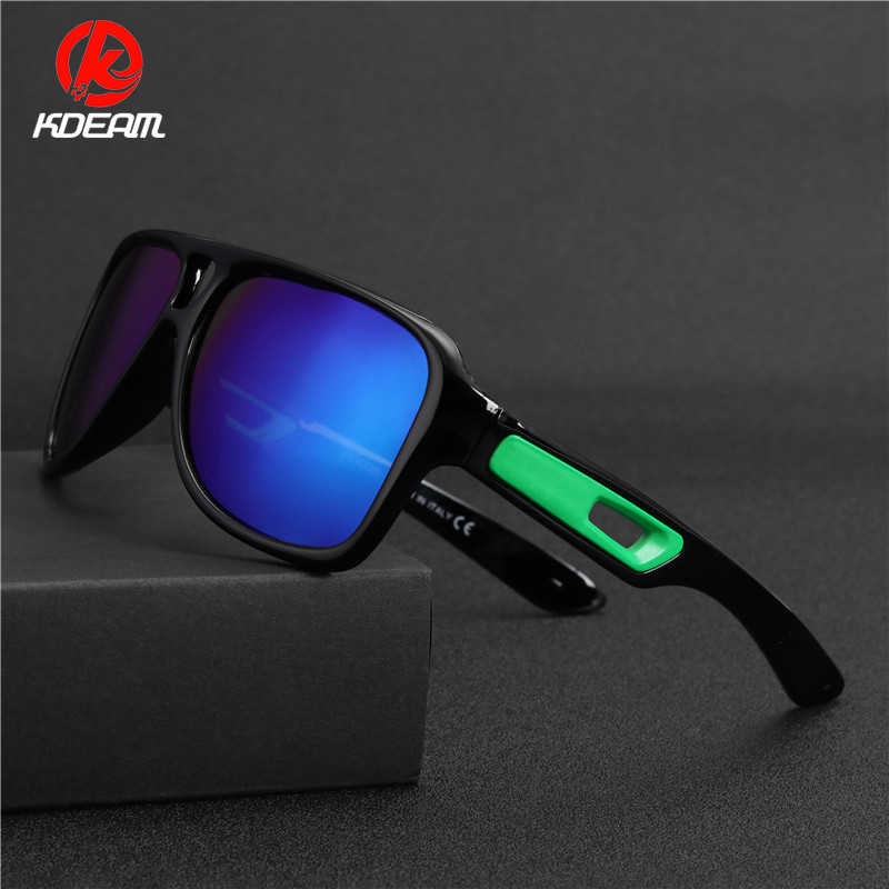 8a08c491837 KDEAM Trendy Style Pilot Driver s Driving Fishing Mirror Polarized  Sunglasses Sport Aviation Sun Protect Glasses Shades