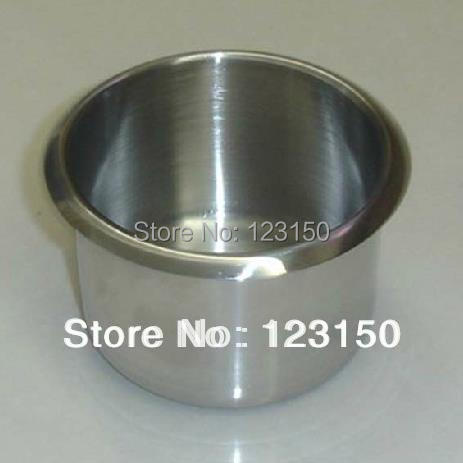 TA 018 Professional Quality Jumbo Stainless Steel Casino Drop In Steel Cup  Holder For