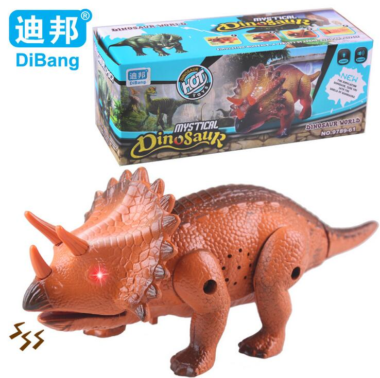 2639 Triceratops dinosaur toy model electric educational ...