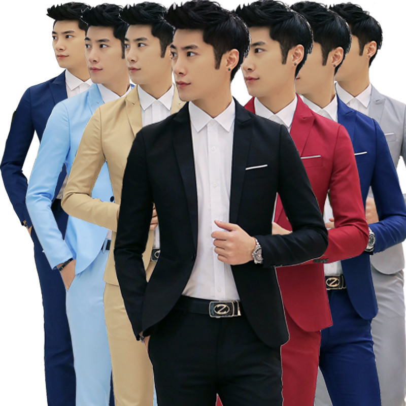 Novelty 2018 For Men S Blazer For Men's Casual Slim Fit Suit Coats & Down Jackets TERNO Masculino For Men Casual Korean Jacket