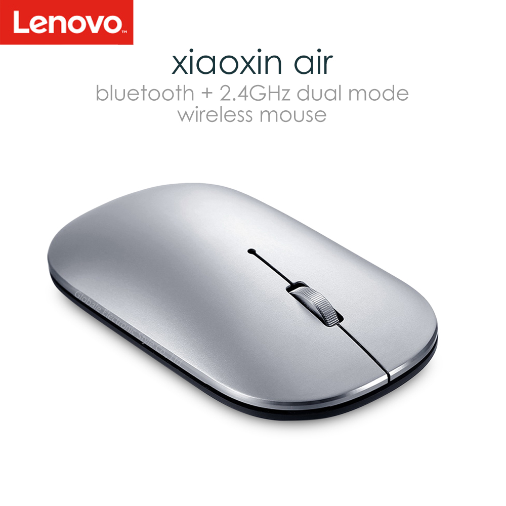 Original Lenovo Xiaoxin Air Bluetooth Wireless Mouse 4000 DPI Optical For Laptop