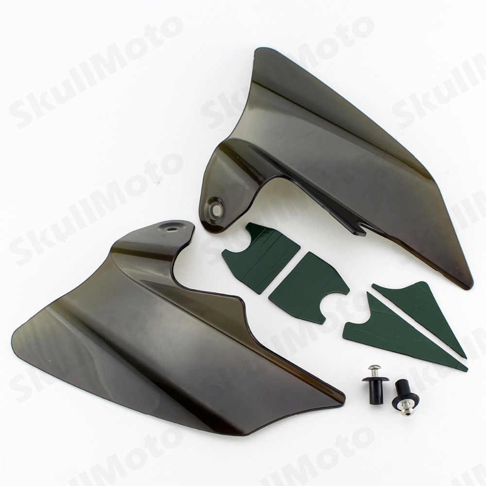 Smoke Air Deflector Heat Shield Saddle for Harley Street Glide Touring 97-2007