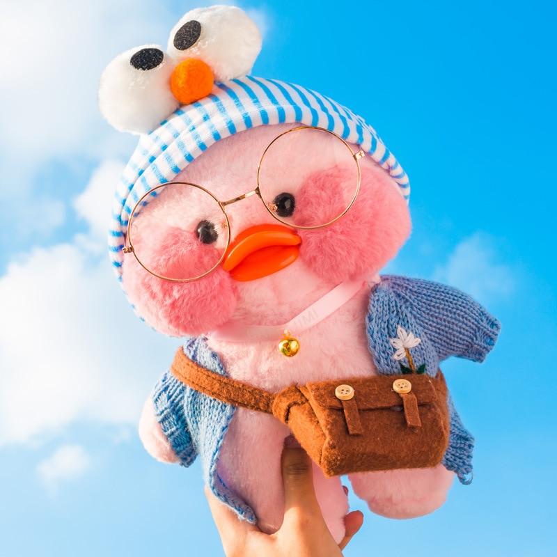 "18/""//12/"" Lalafanfan Cafa Mimi Yellow Duck Doll Girl/'s DIY Plush Stuffed Toy Gift"